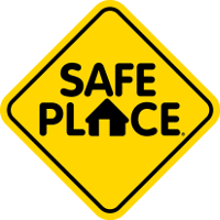 Tumbleweeds Safe Place logo sign