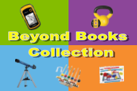 Beyond books items over Avi colors