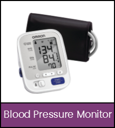 Blood pressure monitor with cuff