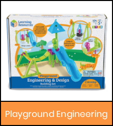 Playground engineering kit in orange frame image with link to catalog record