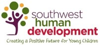 "Southwest Human Development logo: ""Creating a positive future for young children"""