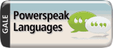 Powerspeak Languages button