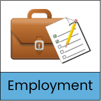 Employment Resources button