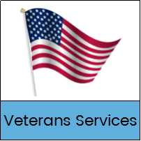 Veterans Services button