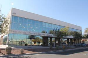 Sam Garcia Western Avenue Library exterior view