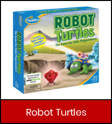 Robot Turtles in red frame