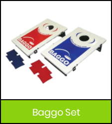 Baggo set image with green frame that links to catalog record