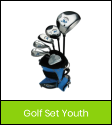 Golf club set image with green frame that links to catalog record