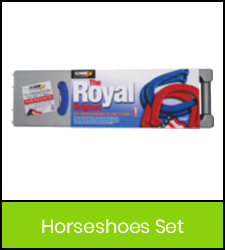 Horseshoes set image with green frame that links to catalog record