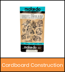 Cardboard construction kit in orange frame image with link to catalog record