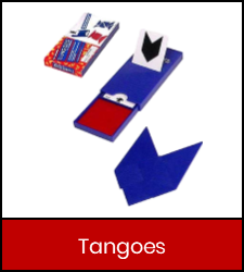 Tangoes game in red frame with link to catalog detail record