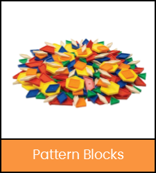 Multi-colored shape blocks