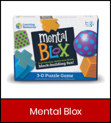 Mental Blox in red frame