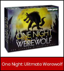 One Night Ultimate Werewolf in red frame