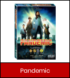 Pandemic in red frame