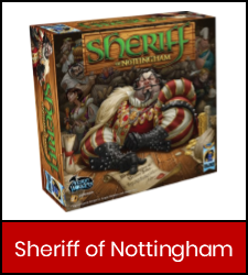 Sheriff Of Nottingham in red frame