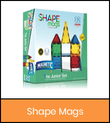 Shape Mags junior set image with orange frame that links to catalog record